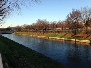 1 januari 2015, Italië, Verona:  Camuzzonikanaal (foto: René Hoeflaak)