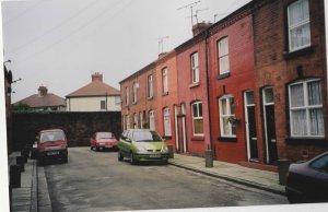 12 Arnold Grove, het geboortehuis van Beatle gitarist George Harrisson (foto: René Hoeflaak)