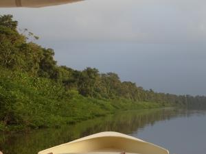 Saramaccarivier, Suriname (foto: René Hoeflaak)