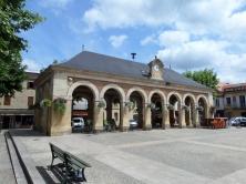 Frankrijk, Lalinde, 31 mei 2015:  Place de la Republique (foto: René Hoeflaak)