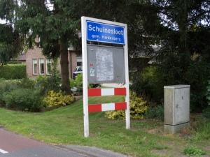 Schuineslootweg, Schuinesloot (foto: René Hoeflaak)