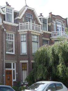 Den Haag, 30 juli 2015; Beeklaan 502, 43 jaar lang  - tussen 1945 en 1988- het woonhuis van Willem Drees (foto: René Hoeflaak)