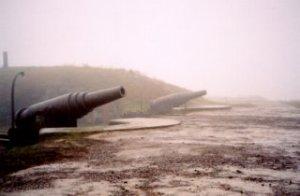 November 2003: kanonnen op Suomenlinna. [Foto: René Hoeflaak]