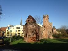 Zutphen, 28 november 2015: Ruïne Berkelpoort (foto: René Hoeflaak)