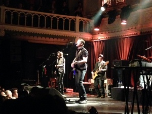 15 januari 2016: Jason Isbell in Paradiso, Amsterdam (Iphone foto: René Hoeflaak)