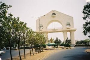 Banjul, 2005: Arch22. Monument ter ere van revolutie in 1994. (foto René Hoeflaak)