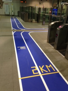Rotterdam, 10 maart 2016: metrostation Wilhelminaplein (foto: René Hoeflaak)