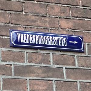 Amsterdam, Vredenburgersteeg (foto: René Hoeflaak)
