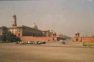 New Delhi, 13 november 1990 (foto: René Hoeflaak)
