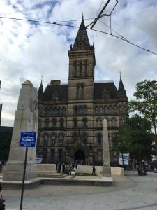 Manchester: St. Peter's Square, 21 oktober 2016: Manchester Cenotaph (foto: René Hoeflaak)