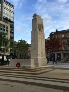 Manchester, St. Peter , Square:  21 oktober 2016: Manchester Cenotaph (foto: René Hoeflaak)