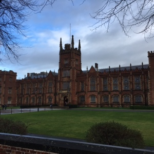 Queen's University, Belfast, 14 januari 2017 (foto: René Hoeflaak)